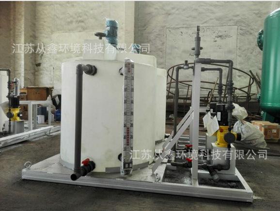 液压中心传动高效浓缩机 江苏从鑫 环保设备专业生产厂家 水处理用加药装置供应商
