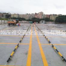 交通安全设施 钢管挡车杆 停车位防撞栏图片