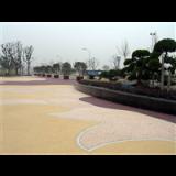 彩色混凝土压模地坪 上海彩色混凝土压模地坪 彩色混凝土压模地坪施工