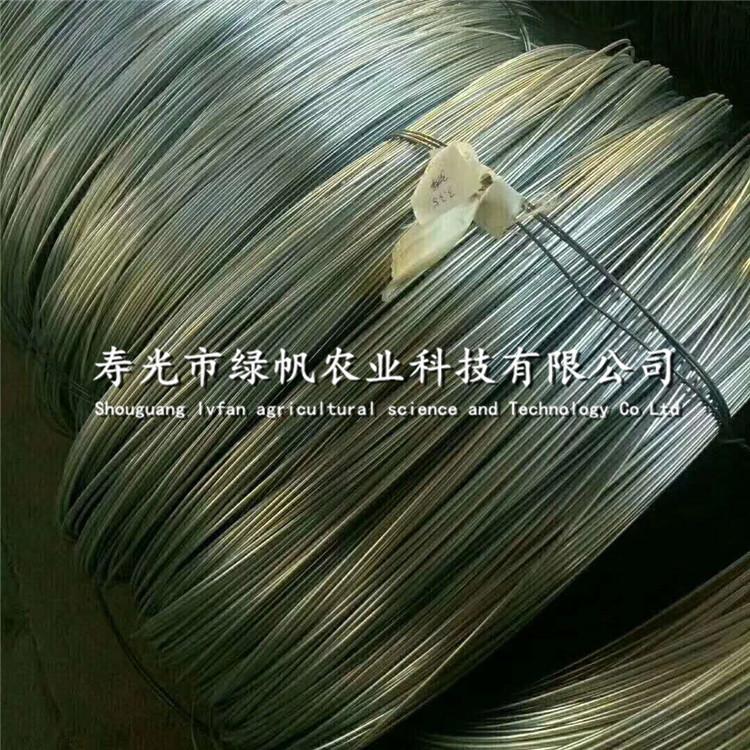 供应镀锌钢丝 镀铜钢丝 铁丝  温室大棚配件 钢丝配件  扎丝等 镀锌钢丝铁丝