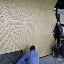 墙面打孔铝板安装价格