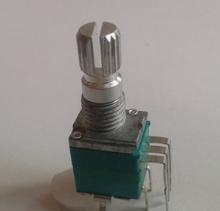 廠家生產097開關電位器 7腳立式電位器開關 故事機開關電位器圖片