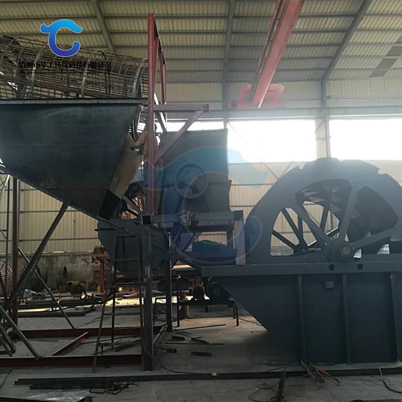 日产200立方轮斗式洗砂机设备生