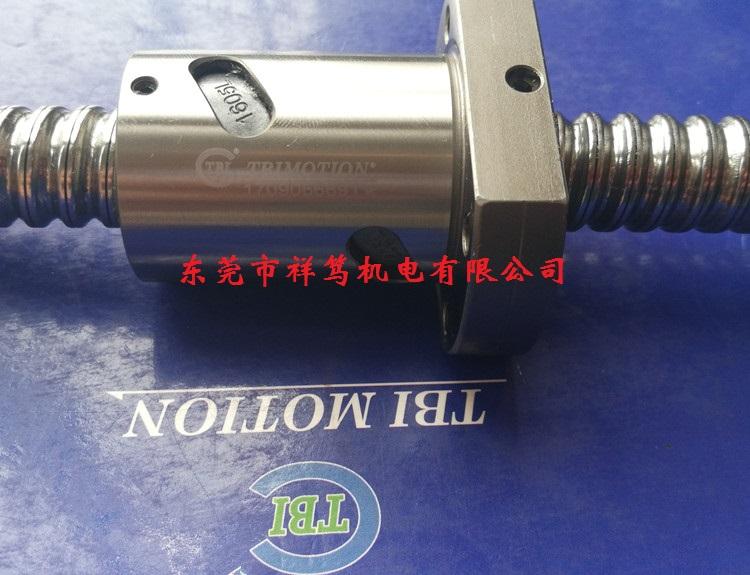 DFI02005-4滚珠丝杆 DFI02505-4型滚珠丝杠 机床专用滚珠丝杠 台湾TBI品牌 双螺母型