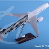 飞机模型A350原型机空客树脂碳纤维客机大航模47厘米航空纪念礼品赠品