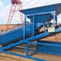 全自动筛沙机价格 邢台全自动筛沙机厂家 30型全自动折叠式筛沙机