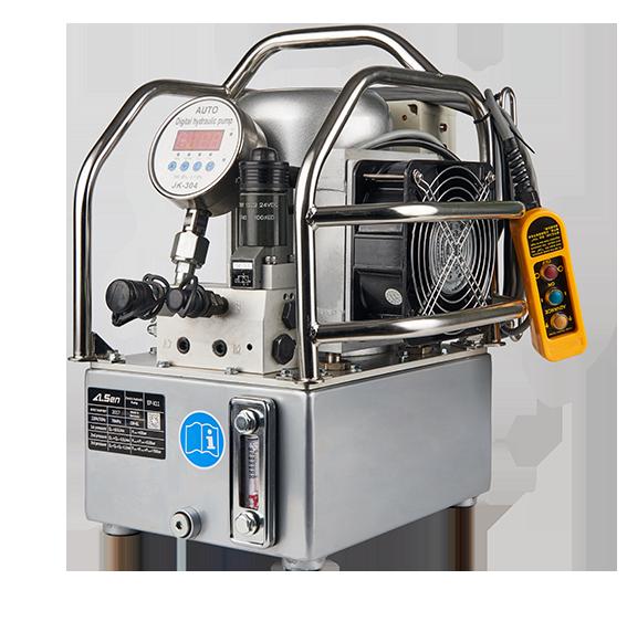 埃尔森三级电动液压泵 液压扳手配套使用