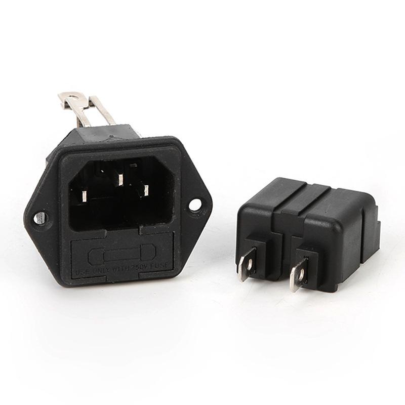 厂家直销供应AC-02F1电源插座 AC-02E1电源滤波器插座