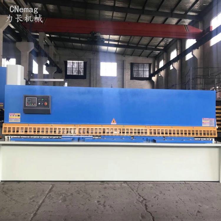 马鞍山力长供应液压摆式数控剪板机QC12K-4*3200 品牌推荐液压摆式数控剪板机