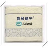 彩条纯棉毛巾图片