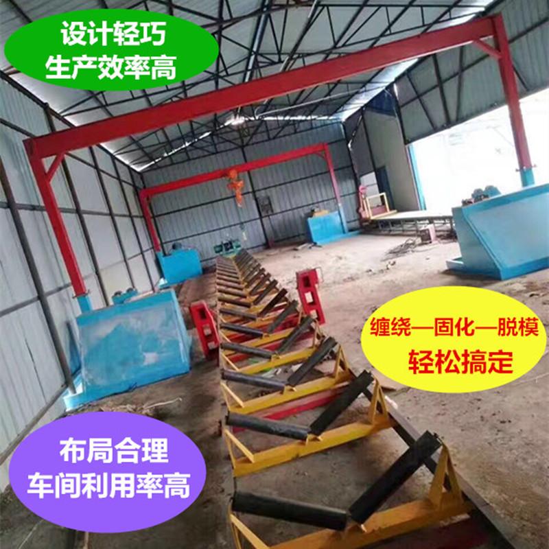 玻璃钢化粪池缠绕生产机器设备化粪池生产线机器设备农村改厕化粪池