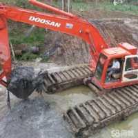 水上挖机出租租赁水上挖掘机出租租赁可以承接水陆挖掘各种工程全网低价