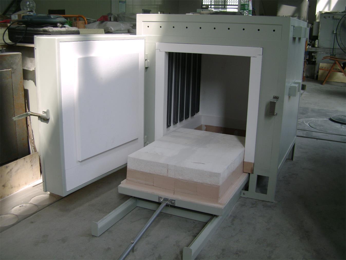供应快速升温台车电阻炉(梭式窑)