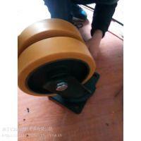汽车agv小车舵轮 脚轮 生产线工业万向轮 重载脚轮价格  小车舵轮市场价