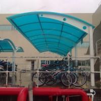 单车棚系列 佛山车棚 单车棚厂家 阳光板单车棚 张拉膜车棚系列  户外停车棚 张拉膜车棚户外系列 单车棚户外系列
