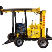 XY-400TS深孔水井钻机 深孔水井钻机 大口径打井机 车载地质勘探钻机 深孔水井钻机电话