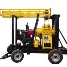 HZ-200T2双缸柴油机 深孔水井钻机车载地质勘探钻机 深孔水井钻机电话 山东深孔水井钻机厂家直销