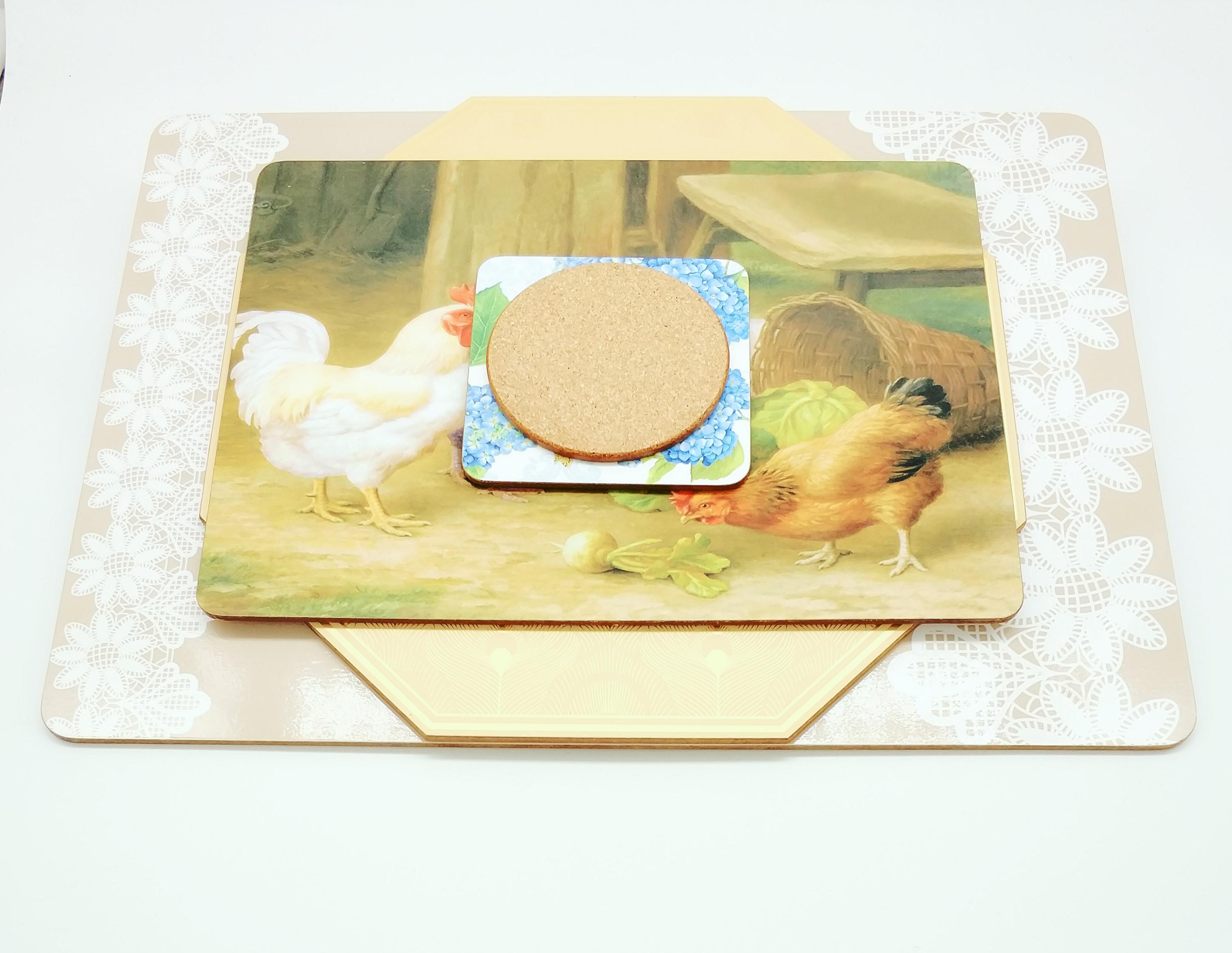 深圳厂家直销隔热餐垫创意设计