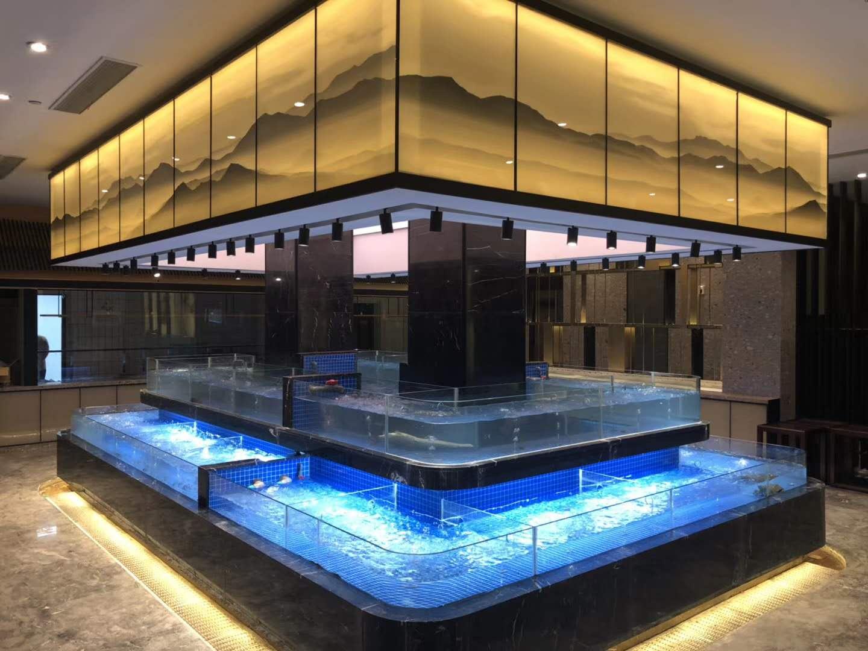 了解杭州玻璃海鲜鱼缸的容量