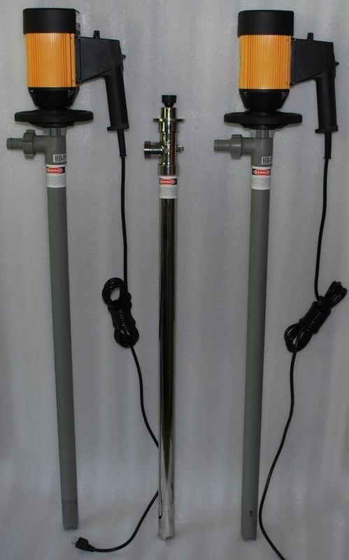 HD可调速电动油桶泵