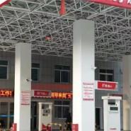 加油站改造包柱铝圆角图片