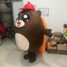 赣州卡通人偶服装行走服装海苔熊批发