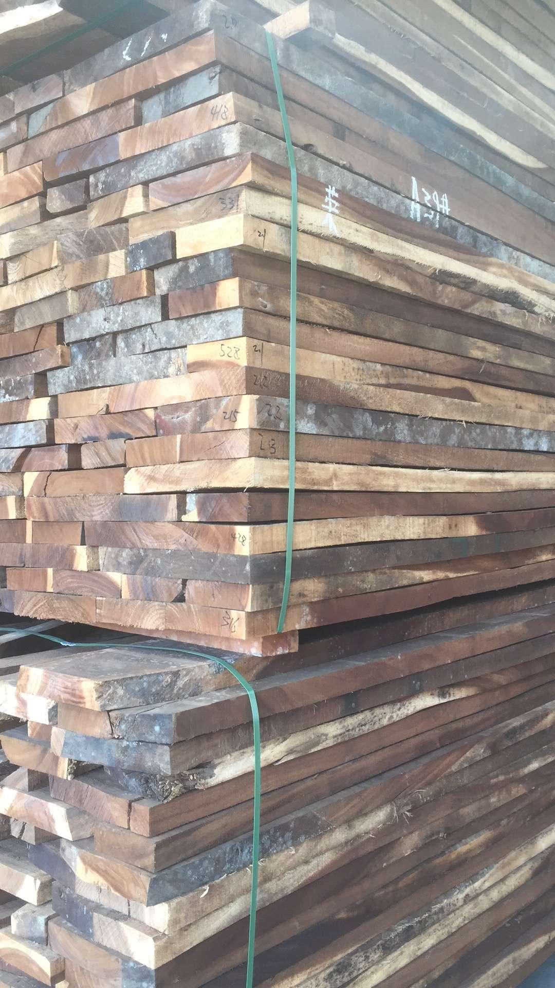 琥珀木家具料烘干板材