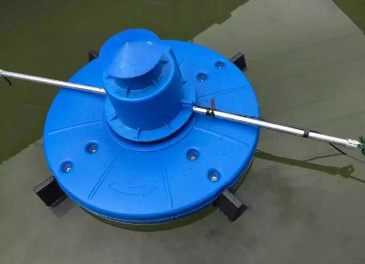 三相380V750W0.75KW鱼塘水流推动设备推浪式增氧机  涌浪式增氧机-09