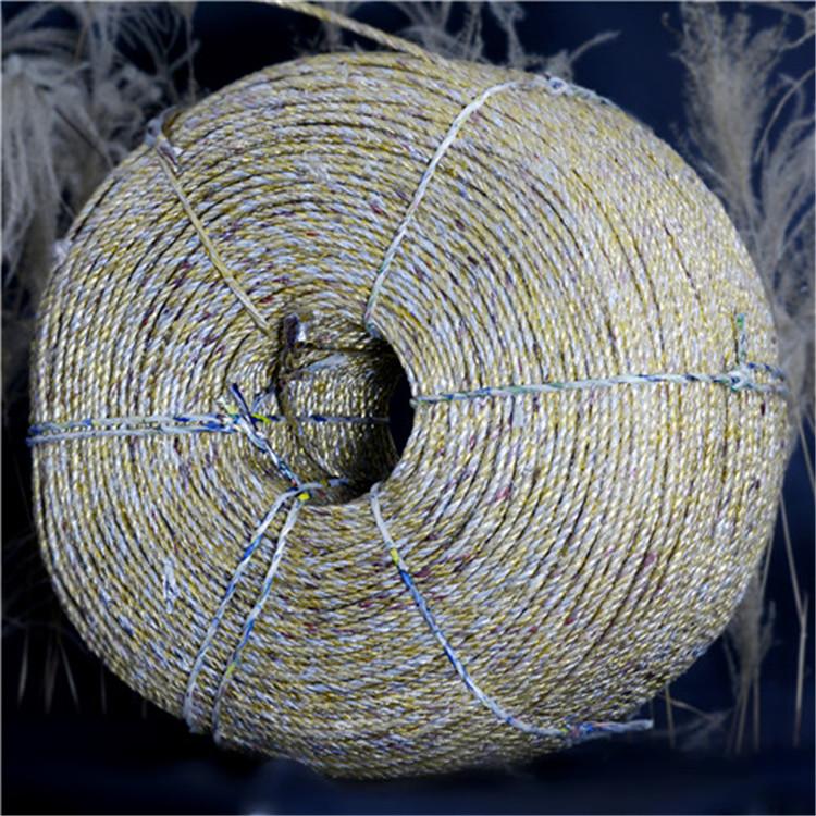 液压打包机原装配套黄金绳白色黄金绳吉林厂家售卖稻草秸秆黄金绳玉米白色黄金绳物流运输黄金打包绳