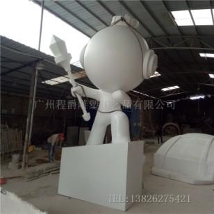 玻璃钢大型卡通人物雕塑图片