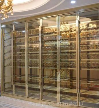 玫瑰金红酒柜 玫瑰金红酒柜报价 玫瑰金红酒柜哪家好 玫瑰金红酒柜生产厂家