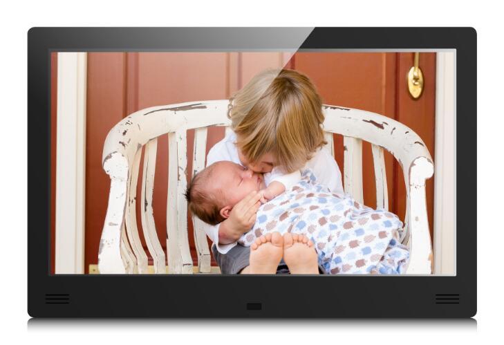 新款11.6寸IPS屏高清广 告 机 壁挂式广 告机 展柜广 告 机 前置喇叭 IPS屏高清数码相框