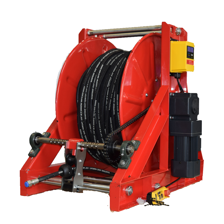 Ebenalp长距离电动遥控卷管器 液压管路卷盘 下水管道疏通卷盘
