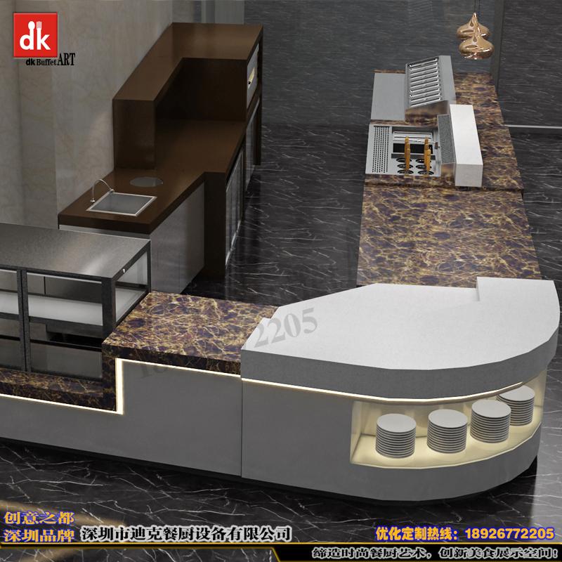 迪克餐厨设备专业生产定制自助餐台