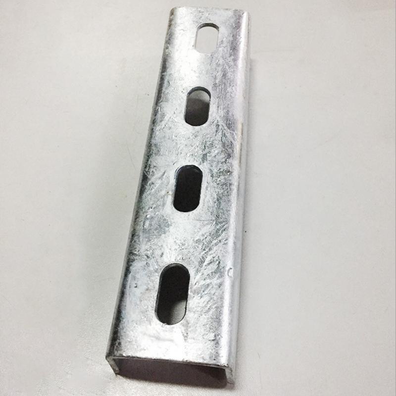 C型钢支架 厂家直销抗震支架配件41*41*2.0热镀锌现货供应