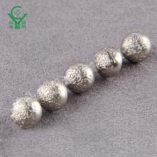 蘑菇面花纹时装脚钮 银色圆形高档环保ABS有脚纽扣 厂家直销批发 蘑菇脚钮