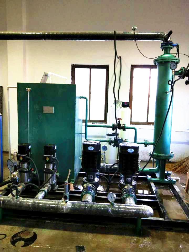 厂家生产管壳式换热机组