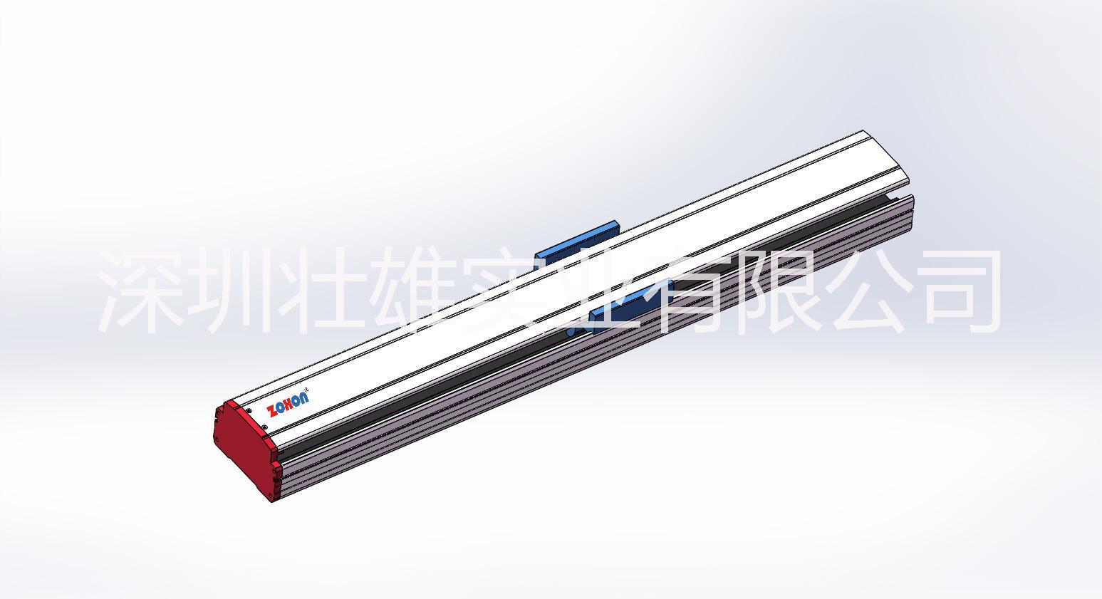 广东模组订制 模组底座线性模组滑槽铝型材 直线滑台导轨铝型材 同步带半封闭式模组型材