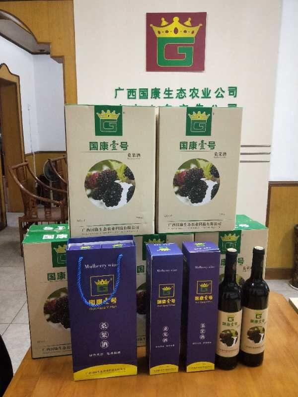 广西哪里有正宗桑葚酒卖-广西国康壹号桑果酒招商热线/厂家批发价格