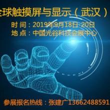 2019全球触摸屏与显示(武汉)展览会
