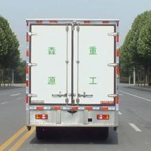 河南4吨城配中转电动冷藏货车