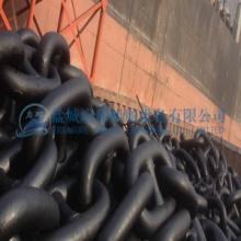 二级有档锚链价格 锚链生产厂家 70毫米90毫米锚链现货图片