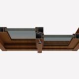 复合铝木门窗-厂家批发报价价格