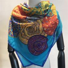 羊绒围巾厂家-羊绒印花围巾