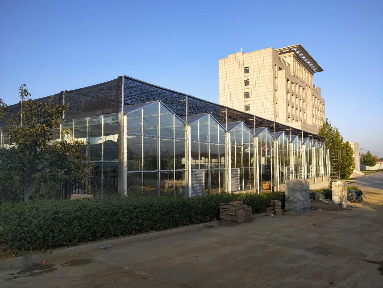 双坡面玻璃温室厂家,供应商,厂家直销,质量保证