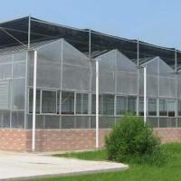 阳光板温室 休闲型玻璃温室
