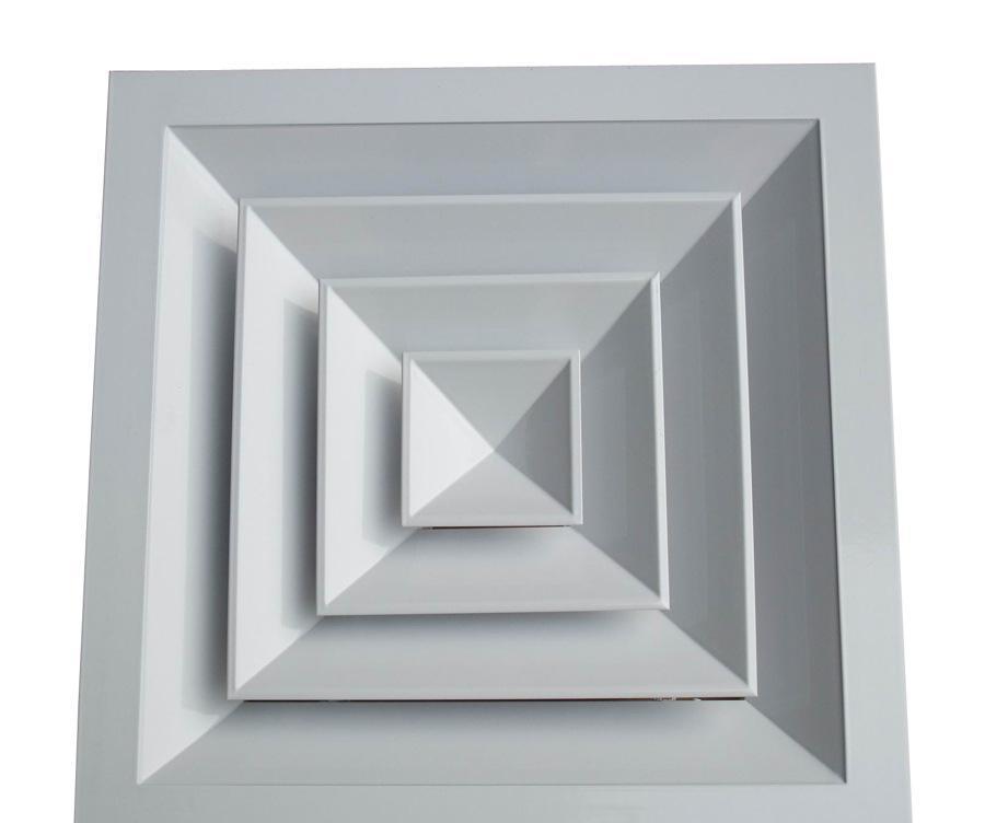广东铝合金方形散流器优质供应商_佛山铝合金方形散流器厂家定制报价_铝合金方形散流器图片大全