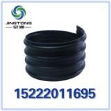 厂家直销 HDPE钢带增强螺旋波纹管 8Kn 市政工程排水排污管