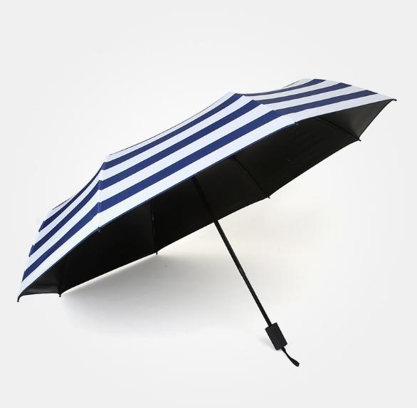 供应黑胶伞 直销黑胶伞 出售黑胶伞 晴雨两用伞 创意晴雨两用伞 韩国雨伞 条纹伞