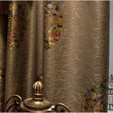 定制轻奢客厅窗帘成品 老人房现代中式客厅卧室窗帘图片